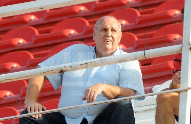 Luis Spahn le llevó tranquilidad a los hinchas de Unión en cuanto a la búsqueda del nuevo técnico.