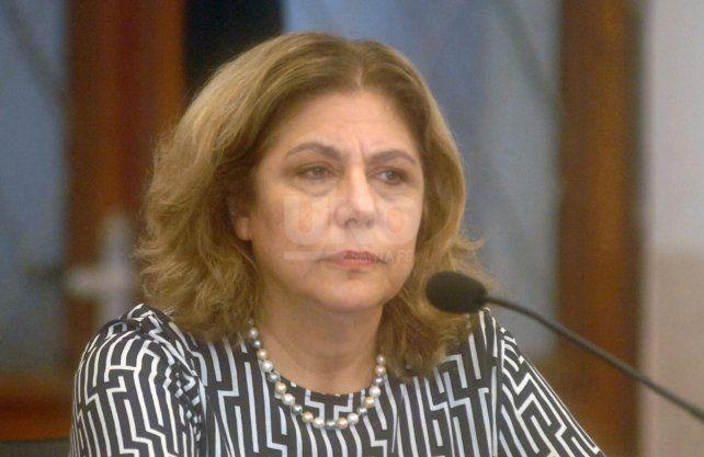 La secretaria de Salud, Sonia Martorano.