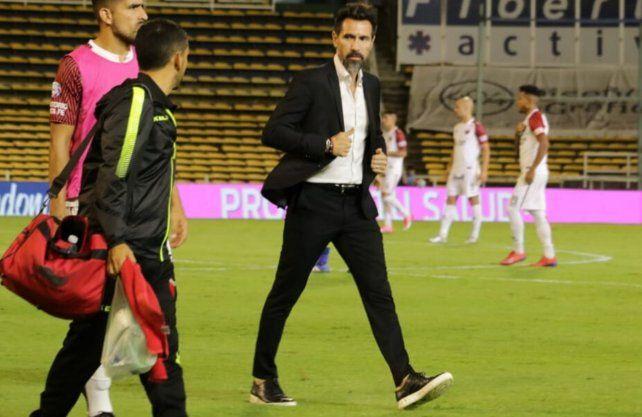 Eduardo Domínguez tomó la posta otra vez en Colón para afrontar la Copa Superliga. Prensa Colón