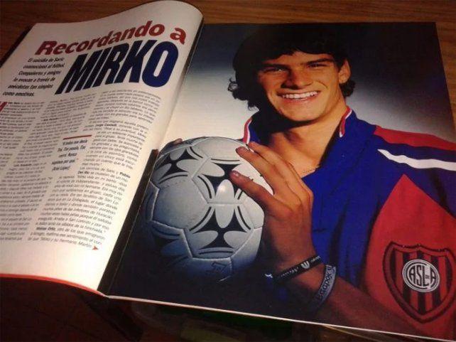 Saric era uno de los grandes proyectos del fútbol argentino.