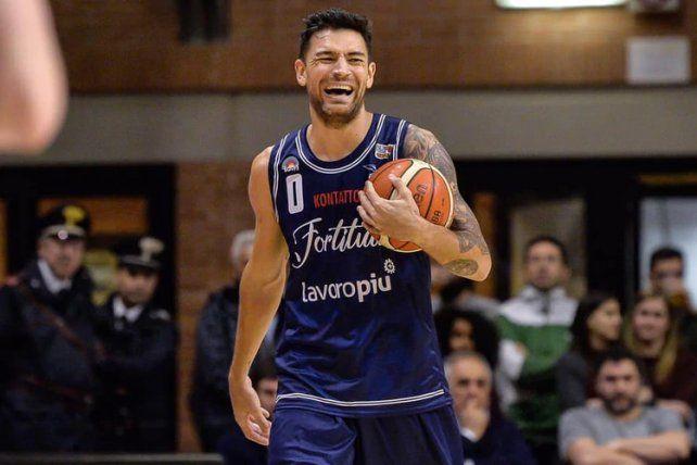 El Cabezón Delfino quiere tener una buena temporada en Italia.