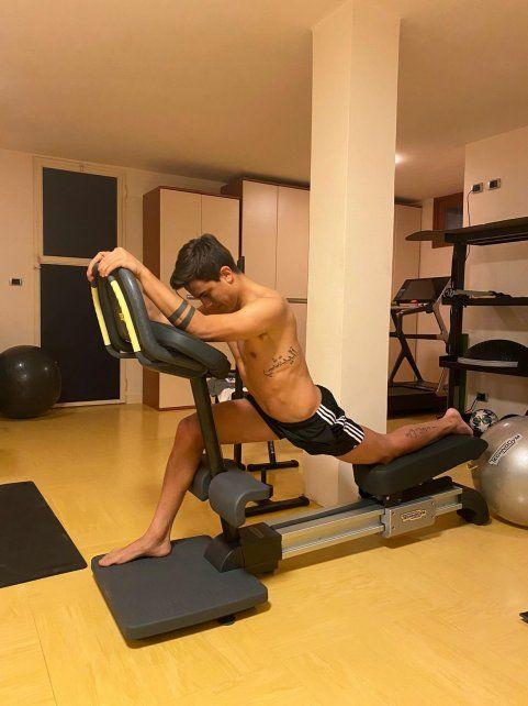 Paulo Dybala volvió a entrenar después de contagirse con coronavirus.