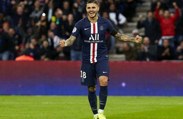 Paris Saint Germain hace un esfuerzo importante para comprarle a Inte a Mauro Icardi