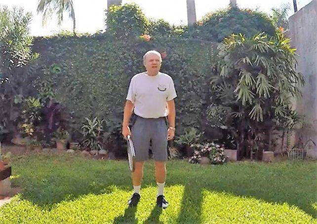 Fernando Dalla Fontana actualmente es profesor en el Santa Fe Lawn Tennis Club.