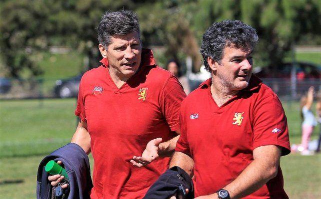 El ex Puma Manuel Contepomi era el entrenador de Newman.