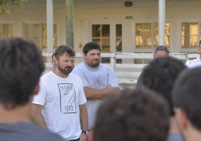 El santafesino Maxi Bustos integra el staff que comanda Raiteri en el plantel de rugby de Estudiantes (P).