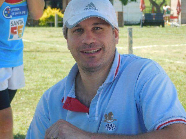 Aguilera, el exjugador de Hindú realiza un seguimiento en los clubes locales.