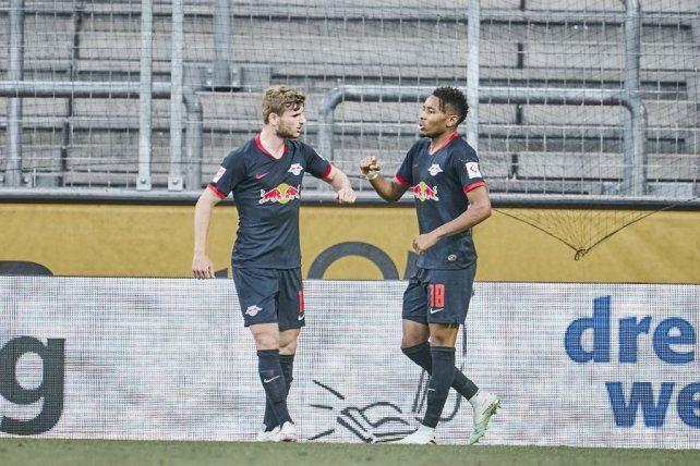 Leipzig sigue en alza en la Bundesliga