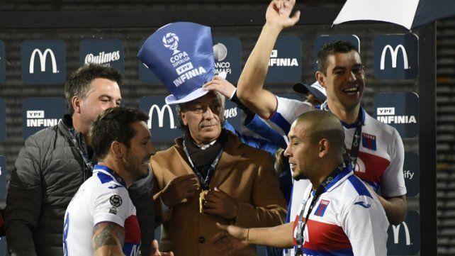 Hace hoy un año Pipo Gorosito, candidato a DT de Unión, sacó campeón a Tigre de la Copa de la Superliga.