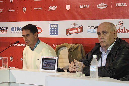 Luis Spahn y Martín Zuccarelli tratan de cerrar la llegada del nuevo técnico de Unión