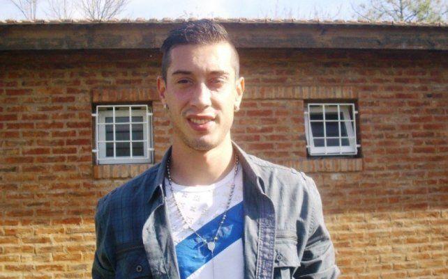 Lihue Prichoda, el exvolante de Colón que se encuentra varado en Venezuela.