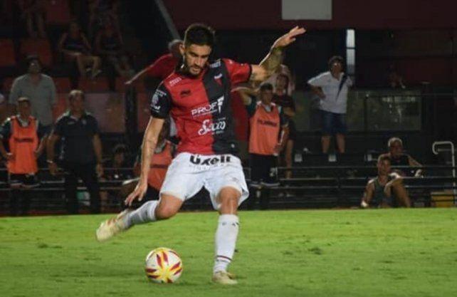 Guillermo Celis es uno de los jugadores que Colón quiere retener. Prensa Colón