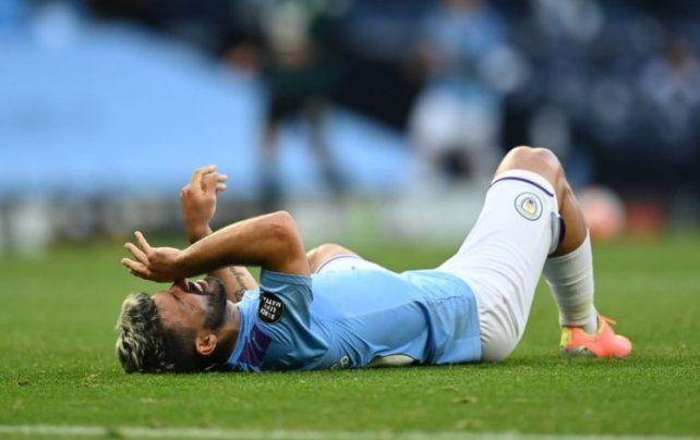 Manchester City ganó pero lamentó la lesión de Sergio Agüero