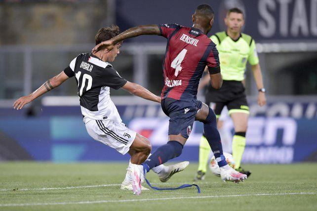 Paulo Dybala marcó en el triunfo de Juventus ante Bologna