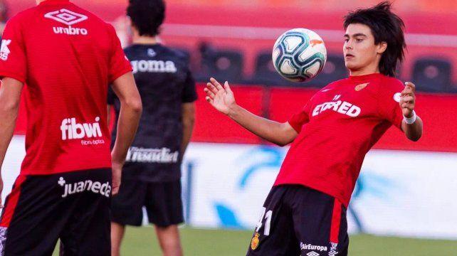 Luka Romero jugó en Mallorca y se convirtió en el jugador más joven en debuta ren la Liga de España con 15 años.