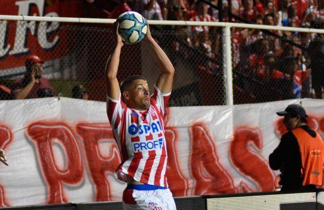 Francisco Gerometta admitió que, tras debutar en Unión, preguntaron desde River. Foto: prensa Unión