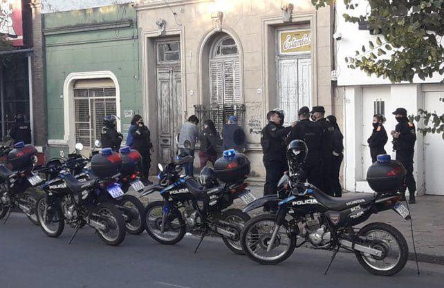 El operativo que terminó con la detención de 4 mujeres