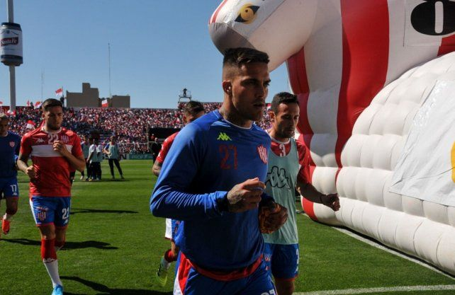 Javier Méndez se despidió de Unión con un mensaje para los hinchas. Foto: Prensa Unión