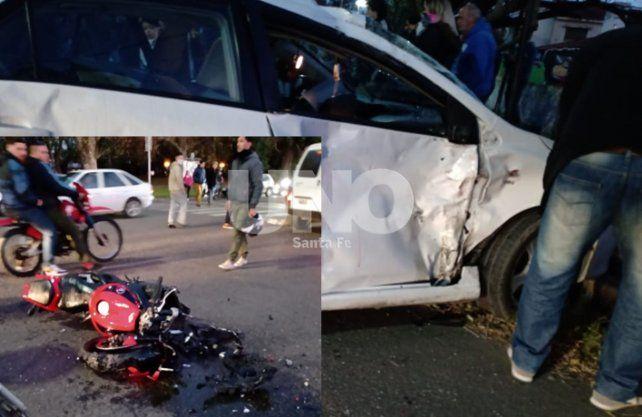 Piden testigos del accidente ocurrido en la Costanera.