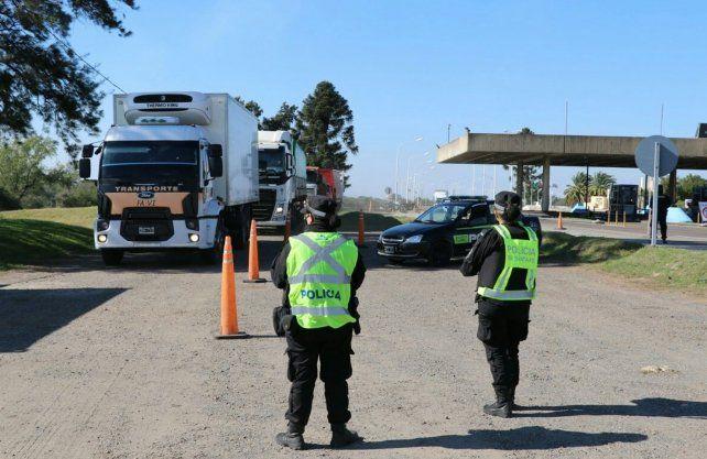 Controles en el Túnel Subfluvial, uno de los puntos clave de los operativos de seguridad en la provincia.