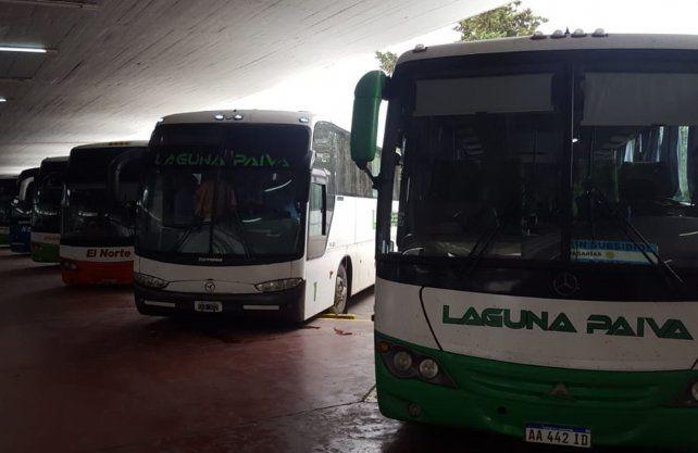 Transporte: desde el lunes se retoma el servicio interurbano, confirmaron desde UTA.