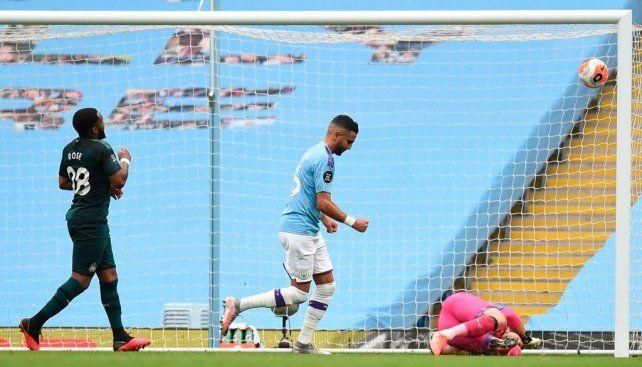 Manchester City no tuvo piedad ante Newcastle en la continuidad de la Premier League