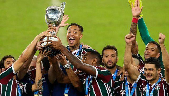 Fluminense le ganó por penales a Flamengo y se quedó con la Copa Río.
