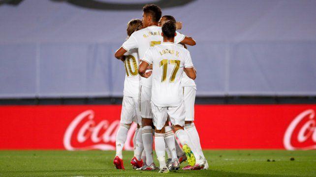Real Madrid sigue imparable en España y ahora arrolló a Alavés