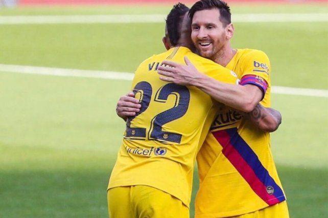 Lionel Messi estableció un récord de asistencia en Barcelona ante Valladolid