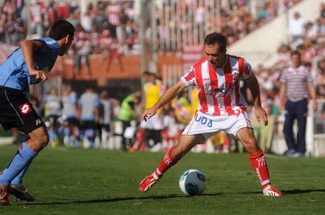 Damián Lizio pasó por Unión en la temporada 2012-13.