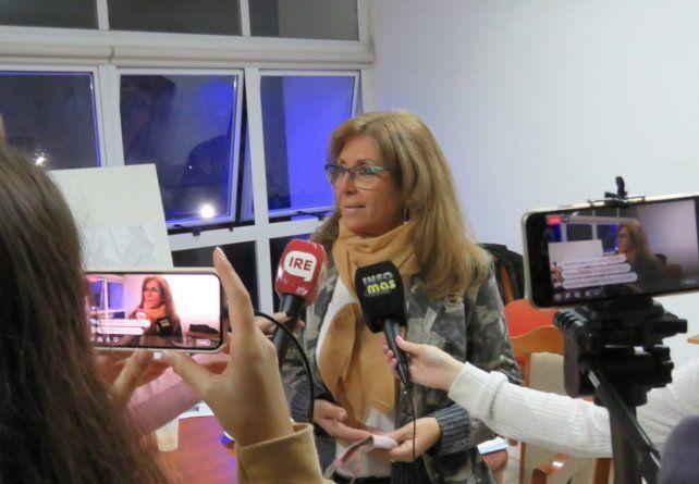 Claudia Giaccone es la secretaria de deportes de la provincia de Santa Fe.