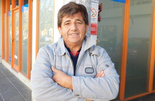 Zalazar admitió que el rugby lo ayudo en su labor social.