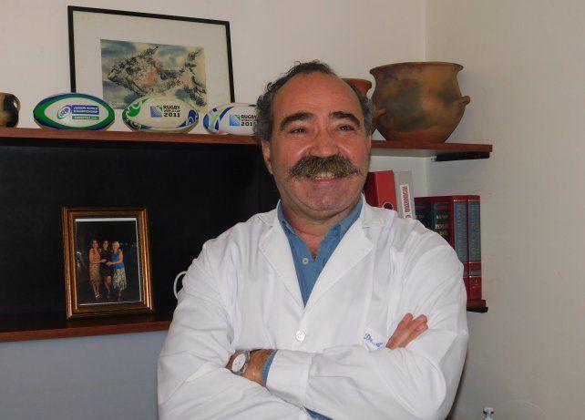 Marozzi fue médico del seleccionado mayor de la USR.