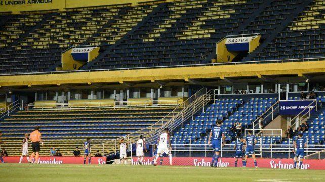 Colón venció a Rosario Central, el 16 de marzo, última fecha con fútbol en Argentina.