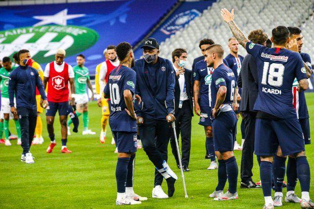El PSG de los argentinos se quedó con la Copa de Francia.