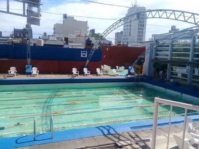 La apertura del natatorio de Gimnasia y Esgrima se hará efectivo a partir del mes de agosto venidero.