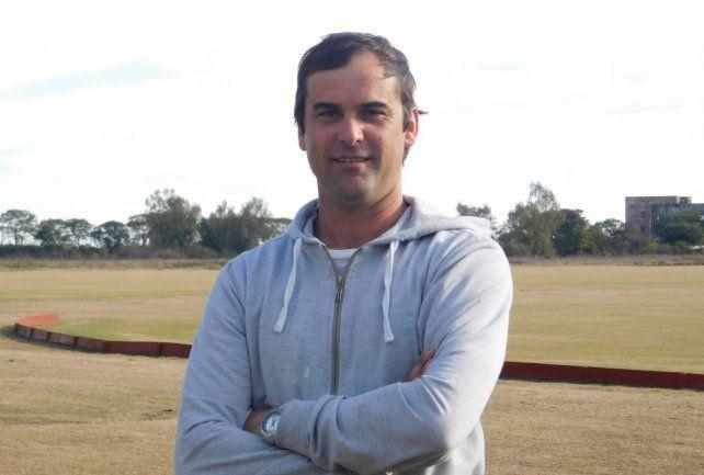 Fabricio Vignatti es el actual presidente del Club Hípico General Belgrano.