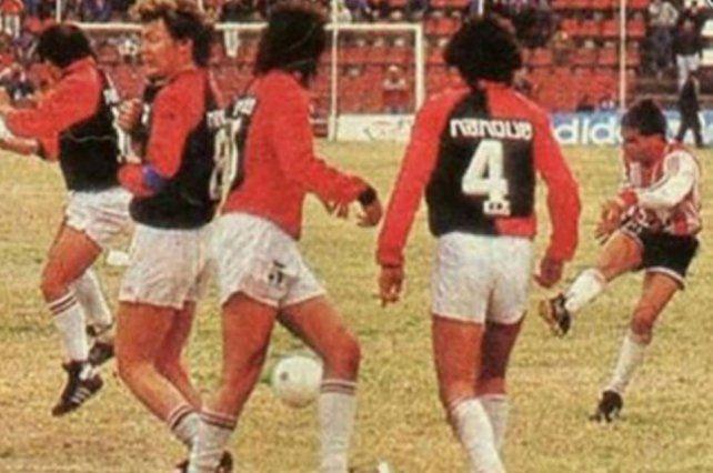 Leonardo Madelón inmortalizó su nombre en Unión, tras el recordado gol ante Colón en la final de 1989.