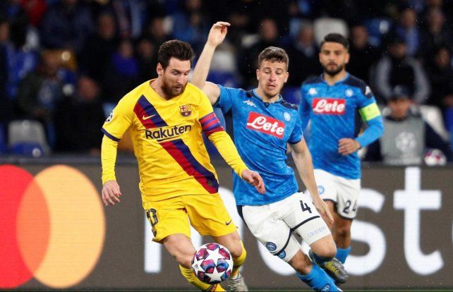 Barcelona y Napoli se enfrentarán en el Camp Nou, como estaba programado.