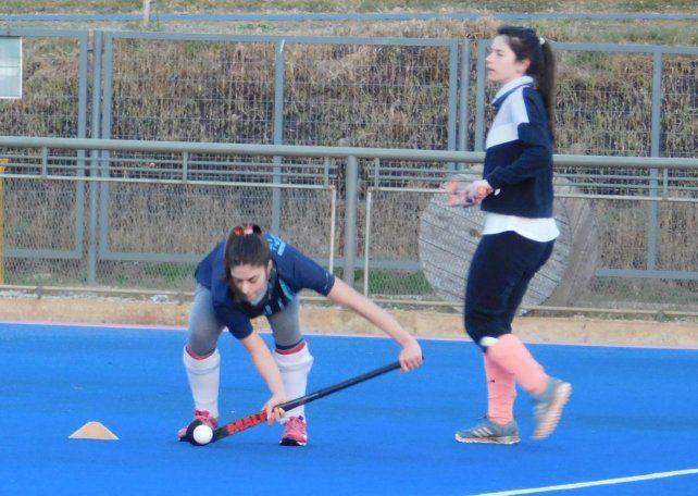 La línea amarilla de El Quillá regresó a los entrenamientos de la mano de Méndez.