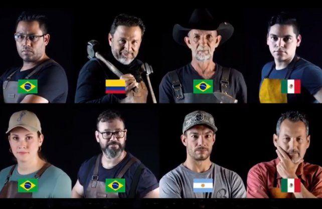El santafesino Diego Borsotti, competirá por el título del mejor forjador de cuchillos de Latinoamérica.