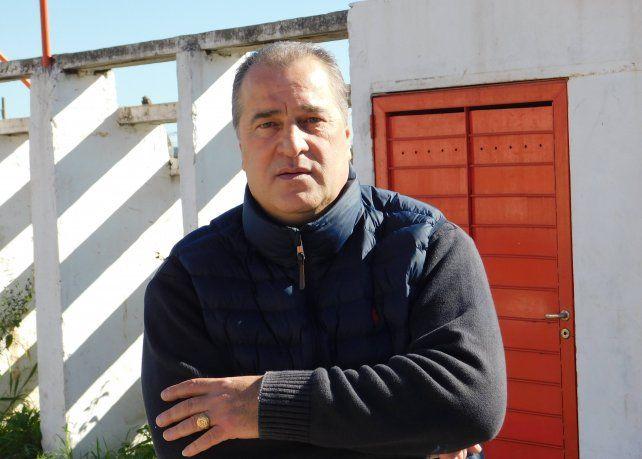El ex vicepresidente de la Liga Santafesina, Alberto Garau, destacó la función social que cumplen en Las Flores y eso le da un gran sentido de pertenencia. Foto: UNO Santa Fe