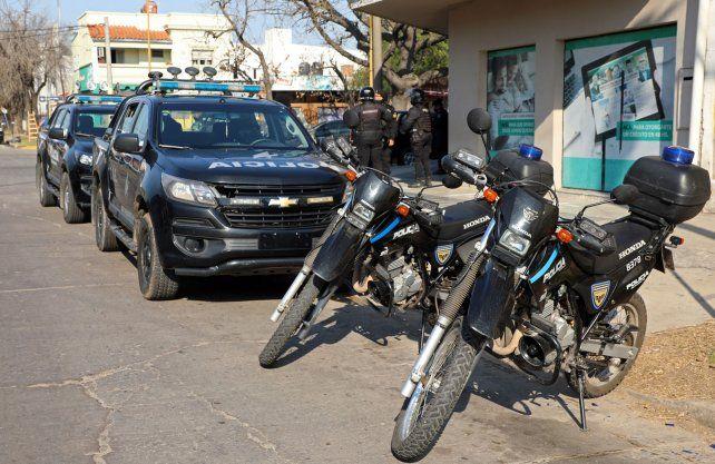 Operativo Modelo IDP (Interceptación de Delitos Predatorios) en la ciudad de Santa Fe.