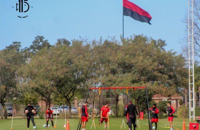 El plantel retomó el trabajo en el predio Ciudad Fútbol con un estricto protocolo. Prensa Colón
