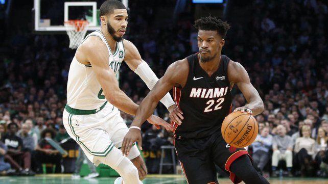 Miami y Boston jugarán el primer partido de la final de la Conferencia Este de la NBA.
