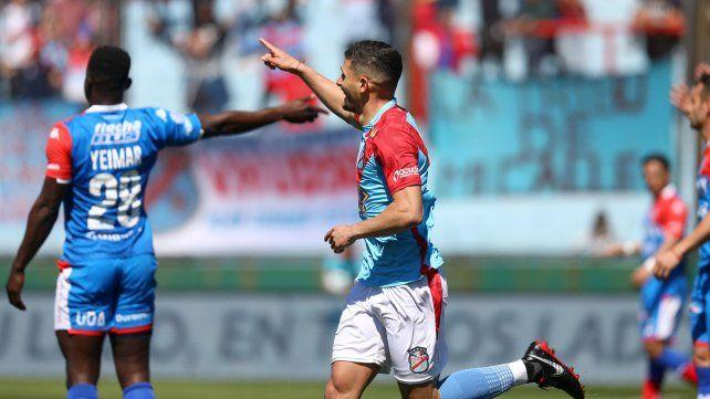 Juan Manuel García llegó a Unión con el objetivo de demostrar toda su capacidad goleadora.