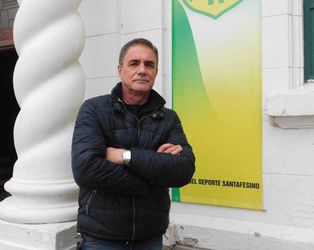 Sergio Buchara es el actual presidente de Regatas de Santa Fe.