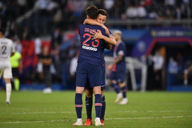 El PSG superó este miércoles sobre la hora Metz enel partidopendiente de la 1ª fecha en Francia