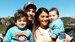 Tras pasar unos días por Rosario, Messi se fue de vacaciones junto a su familia