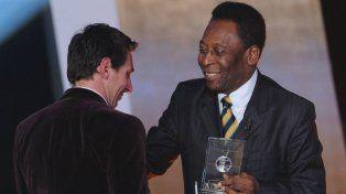 Pelé le pide a Messi que no deje la Selección argentina